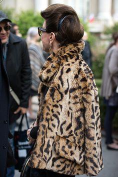 On the Street…Extreme Chic, Milan & Paris « The Sartorialist