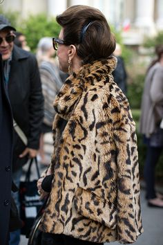 On the Street…The Chicest Hair, Milan & Paris