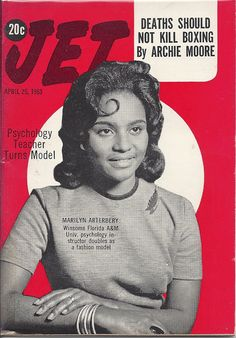 APR 25 1963 JET MAGAZINE VOL.24 #1 (Marilyn Arterbery)