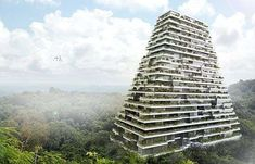The 'Pyramid Project' is a unique concept for a sustainable housing complex to be built by LAR in the Mexican city of Merida.
