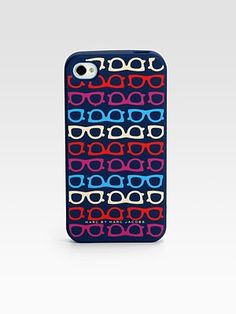 Marc by Marc Jacobs, Spectacle iPhone 4G Case, via http://www.designsponge.com/2012/03/great-accessories-for-iphones-android-devices.html