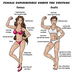 Superhero Week: The naked truth underneath female superhero costumes Superhero Costumes Female, Body Reference Drawing, Weird But True, Super Hero Costumes, Life Moments, Fun Comics, Faith In Humanity, Story Inspiration, Writing Prompts