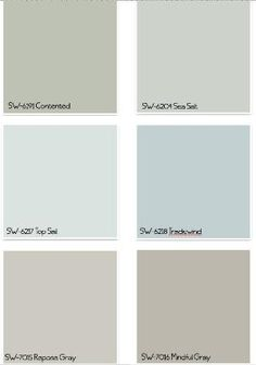 Sherwin Williams Paint Colors by catalina