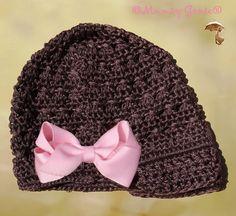 Baby Girl Hat, via Etsy.