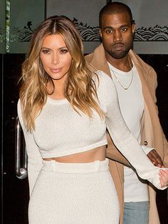 Star Tracks: Monday, January 13, 2014 | A GOOD CROP | It's a whitewash! The always coordinated Kim Kardashian and Kanye West show their solidarity in love and fashion as they exit Mr. Chow restaurant in Beverly Hills on Sunday.