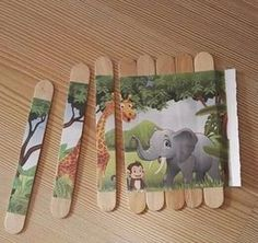 Holiday Toys and Activities - # Activities .- Urlaubsspielzeug und Aktivitäten – Holiday Toys and Activities – - Holiday Activities, Preschool Activities, Therapy Activities, Therapy Ideas, Art Therapy, Craft Stick Crafts, Fun Crafts, Craft Sticks, Puzzle Crafts