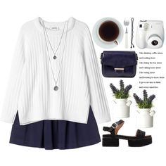 """""""time to think."""" by evangeline-lily on Polyvore"""
