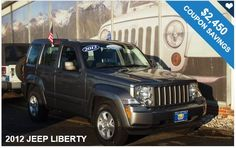 2012 JEEP LIBERTY / $2,450 IN COUPONS ! Instantly Savings Available!