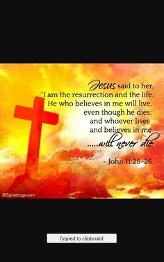 John 11: 25-26