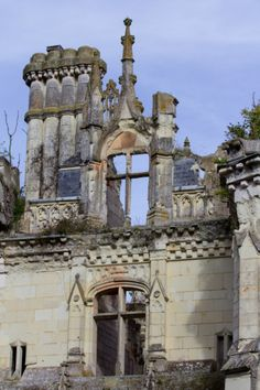 This castle was abandoned 80 years ago, but look at it now.