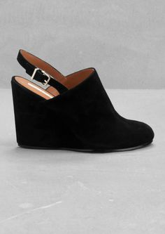 Suede wedges | Suede wedges | & Other Stories