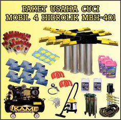 Paket Cuci Mobil 4 Hidrolik MBH – 401