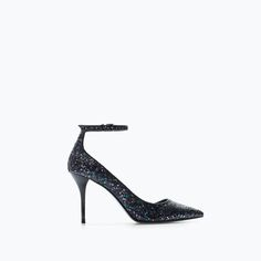 ZARA - SHOES & BAGS - High heel court shoe with ankle strap