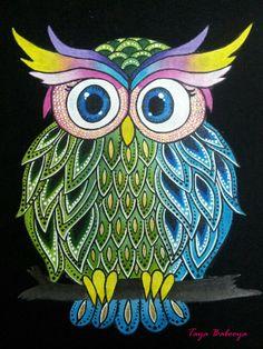 'Owl' by Taya Babooya