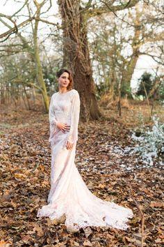 Winter Wedding Moggerhanger Park » Sarah Brookes Photography Industrial Wedding, Romantic, Photoshoot, Weddings, Inspired, Park, Wedding Dresses, Winter, Photography