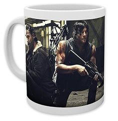 The Walking Dead Mug Rick and Daryl ** For more information, visit image link.Note:It is affiliate link to Amazon.