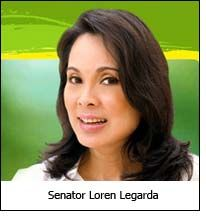Legarda: the first PH senator to file COC for her reelection bid in 2013 elections | Manila Channel | Philippine and OFW News