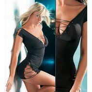 Sexy jurk met koord -iShoperotic