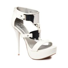 Shop for Womens Shi By Journeys Rockit Heel in Off White at Shi by Journeys. #Shi