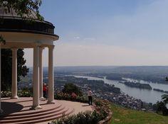 https://flic.kr/p/Kc1FhY | Niederwalddenkmal mit Blick auf den Rhein | herrliche Aussicht