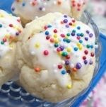 Anisette cookies  very easy recipe and great holiday cookie tradition from Italy. (I bought the anisette extract from tj maxx/home goods  in the food isle)
