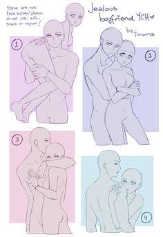 Ship Drawing, Comic Drawing, Drawing Base, Manga Drawing, Figure Drawing, Drawing Sketches, Couple Poses Reference, Anime Poses Reference, Drawing Body Poses