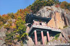 Mt. Osan Saseongam Hermitage. Gurye, South Korea