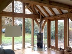 Oak Framed Extensions, Orangery Extension, Oak Framed Buildings, Garden Room Extensions, My Dream Home, Home Interior Design, Outdoor Spaces, Conservatory Ideas, New Homes
