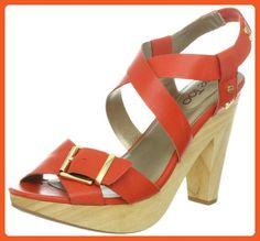 Me Too Women's Ebony Platform Sandal,Coral,9.5 M US - Sandals for women (*Amazon Partner-Link)