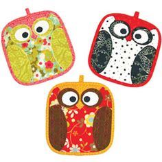 Owl Pot Holders pattern to buy