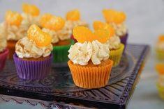 Sallys Rezepte - Fanta Cupcakes / fruchtig / Mini Cupcakes / kleine Törtchen