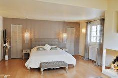 Création d'une suite parentale, Faverges-de-la-Tour, Lisa Paunovitch - décorateur d'intérieur