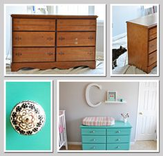 refurbishing old furniture and giving new life to things so that they don't end up in a landfill.