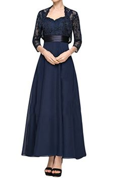 MILANO BRIDE Gorgeous Mother Of Bride And Groom Dress Ankle Length Lace Jacket-18W-Navy Blue MILANO BRIDE http://www.amazon.com/dp/B0132KVXQY/ref=cm_sw_r_pi_dp_hJdYvb17V93TR