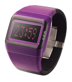 Kim Gray Birthday Give Away o. Fall Fashion Trends, Fall Trends, 2014 Trends, Mix N Match, Digital Watch, Purple And Black, Fashion Accessories, Watches, Womens Fashion