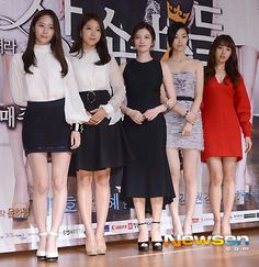 Press conference - Actresses (sc: couch kimchi)