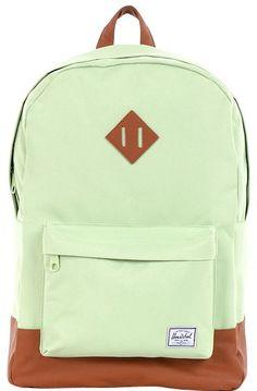 Mint Green Herschel Backpack
