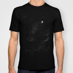 Gravity T-shirt by Tobe Fonseca | Society6