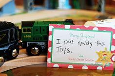 Santa's Secret Service - a service project for the whole family