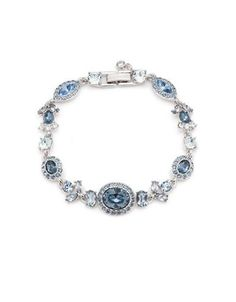 Givenchy Camille Imitation Rhodium-Plated Flex Bracelet Women's Silver