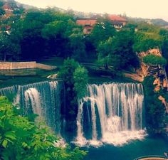 So beautiful Jajce, Bosna waterfalls. ... Book your trip to this country via www.nemoholiday.com or simply visit holiday.superpobyt.com