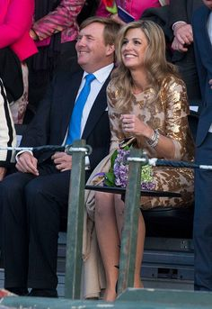 King Willem-Alexander and Queen Maxima of The Netherlands attend the Liberation Day Concert on May 5, 2016 in Amsterdam, Netherlands. Liberation Day (Dutch: Bevrijdingsdag) is celebrated each year on May the 5th to mark the end of the occupation by Nazi Germany during World War II.