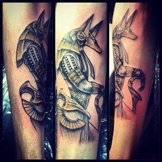 #anubis #tattoo