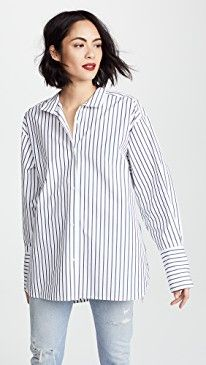 New FRAME Clean Collared Shirt online. Perfect on the James Perse Clothing from top store. Sku dxpx73363rvic94252