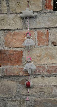 Lovely ballerina mobiles from Eszterdarte