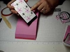 """Card design used by Intatwyne to do the Amazing you """"celebrate"""" pop-up card Card Making Tutorials, Card Making Techniques, Making Ideas, Fancy Fold Cards, Folded Cards, Pop Up Cards, Cool Cards, Scrapbooking, Scrapbook Cards"""