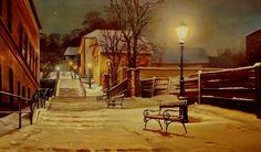 Winter feeling- adagio- near Buda Castle