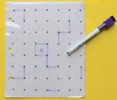 Chase boredom away with this DIY Dots and Squares Game, a popular and entertaining puzzle activity. This tutorial will show you how to make your own game and enjoy hours of fun without spending unnecessary money. Adult Crafts, Easy Crafts, Make Your Own Game, Halloween Dance, Cool Things To Make, How To Make, Diy Games, Sewing Toys, Duct Tape
