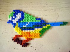 Bird perler beads by Effie maakt