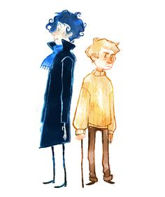 BBC Sherlock and Holmes <3